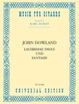 John Dowland - Lachrimae Pavan und Fantasie - Partition - di-arezzo.fr