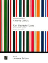 5 Slawische Tänze Op. 46 Antonin Dvorak Partition laflutedepan.com