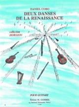 2 Danses de la Renaissance Daniel Cobo Partition laflutedepan.com