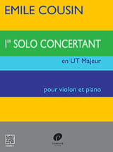 Emile Cousin - Solo concertante n ° 1 in C Major - Sheet Music - di-arezzo.co.uk