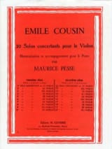 Emile Cousin - Solo concertante n ° 11 in C major - Sheet Music - di-arezzo.com