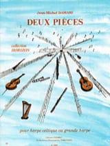 2 Pièces Jean-Michel Damase Partition Harpe - laflutedepan.com