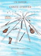 Conte d'hiver - Jean-Michel Damase - Partition - laflutedepan.com