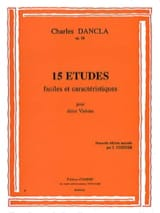 DANCLA - 15 Studies op. 68 - Sheet Music - di-arezzo.co.uk