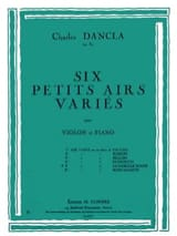 DANCLA - Varied air op. 89 n ° 5 on a theme of the Swiss Family - Sheet Music - di-arezzo.co.uk