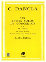 DANCLA - Small concerto solo op. 141 n ° 3 in C Major - Sheet Music - di-arezzo.co.uk