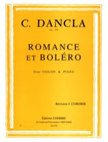 Charles Dancla - Romance and Bolero Op. 50 - Sheet Music - di-arezzo.com