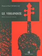 Le violoniste Francis-Paul Demillac Partition laflutedepan.com