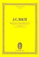Johann Christian Bach - Sinfonia Concertante C-Dur - Partition - di-arezzo.fr