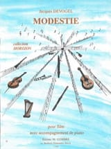 Jacques Devogel - Modesty - Sheet Music - di-arezzo.co.uk