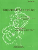 Greensleeves to a Ground - Flûte à bec guitare laflutedepan.com