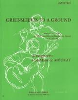 Greensleeves to a Ground – Flûte à bec guitare - laflutedepan.com