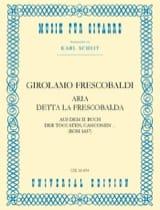 Aria detta la Frescobalda - Girolamo Frescobaldi - laflutedepan.com