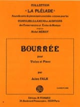 Julien Falk - bourree - Sheet Music - di-arezzo.com