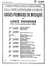 Louis Fournier - Cours primaire de musique n° 5 - Partition - di-arezzo.fr