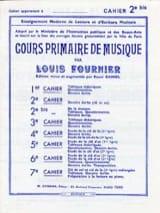 Louis Fournier - Cours primaire de musique n° 2 bis - Partition - di-arezzo.fr