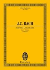 Johann Christian Bach - Sinfonia Concertante Es-Dur - Partition - di-arezzo.fr