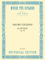 Mauro Giuliani - 24 Etüden op. 48 - Sheet Music - di-arezzo.co.uk