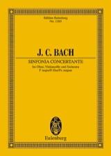 Johann Christian Bach - Sinfonia Concertante F-Dur - Partition - di-arezzo.fr