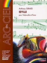 Idylle Anthony Girard Partition Violoncelle - laflutedepan.com