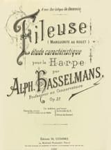 Alphonse Hasselmans - The Fileuse op 27 - Harp - Sheet Music - di-arezzo.com