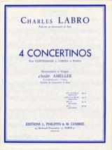 Charles Labro - Concertino in D minor and D major op. 31 - Sheet Music - di-arezzo.co.uk