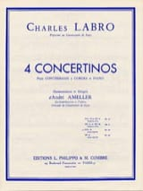 Charles Labro - Concertino en sol majeur op. 32 - Partition - di-arezzo.fr