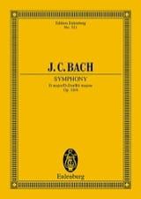 Johann Christian Bach - Sinfonia D-Dur - Partition - di-arezzo.fr