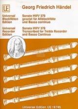 Sonate gesetzt für Altblockflöte u. Basso continuo laflutedepan.com