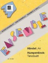 HAENDEL - Air aus Rinaldo / Tanzduett aus Hänsel und Gretel - Partition - di-arezzo.fr