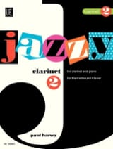 Jazzy Clarinet 2 Paul Harvey Partition Clarinette - laflutedepan.com