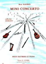 Mini-Concerto René Maurice Partition Hautbois - laflutedepan.com
