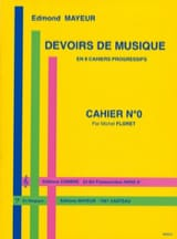 Edmond Mayeur - Duties of music n ° 0 - Sheet Music - di-arezzo.com