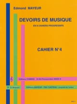 Edmond Mayeur - Duties of music n ° 4 - Sheet Music - di-arezzo.co.uk
