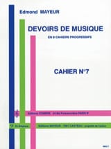 Edmond Mayeur - Duties of music n ° 7 - Sheet Music - di-arezzo.com