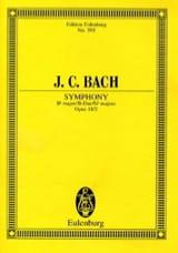 Johann Christian Bach - Sinfonie B-Dur, Op. 18/2 - Partition - di-arezzo.fr