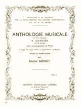 Michel Meriot - Musical Anthology Volume 1 - Sheet Music - di-arezzo.co.uk