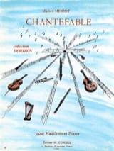 Michel Meriot - Chantefable - Partition - di-arezzo.fr