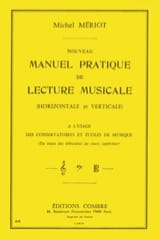 Michel Mériot - New practical manual of musical reading - Sheet Music - di-arezzo.com