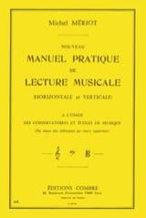 Michel Mériot - Nouveau manuel pratique de lecture musicale - Partition - di-arezzo.fr