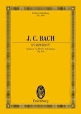 Johann Christian Bach - Sinfonie G-Moll, Op. 6/6 - Partition - di-arezzo.fr