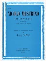 Nicolo Mestrino - 1st Solo of the Concerto n ° 7 - Sheet Music - di-arezzo.co.uk