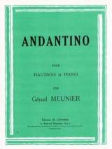Gérard Meunier - Andantino - Partition - di-arezzo.fr