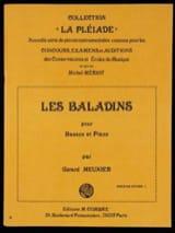 Gérard Meunier - Les baladins - Partition - di-arezzo.fr