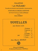 Jean-Maurice Mourat - Vowels U and Y: Ulmaire - Yuca - Sheet Music - di-arezzo.com