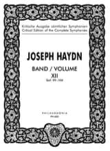 Edition complete Symphonies Volume 12 99-104 - Score laflutedepan