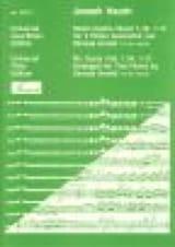 6 Duette Band 1, Nr. 1-3 - 2 Flöten HAYDN Partition laflutedepan.com