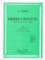 Emmanuel Nerini - Pierre-Gavotte - Partition - di-arezzo.fr
