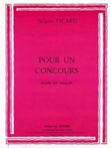 Jacques Picard - For a contest - Sheet Music - di-arezzo.co.uk