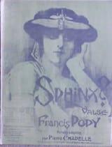 Sphinx – Violon - Francis Popy - Partition - Violon - laflutedepan.com